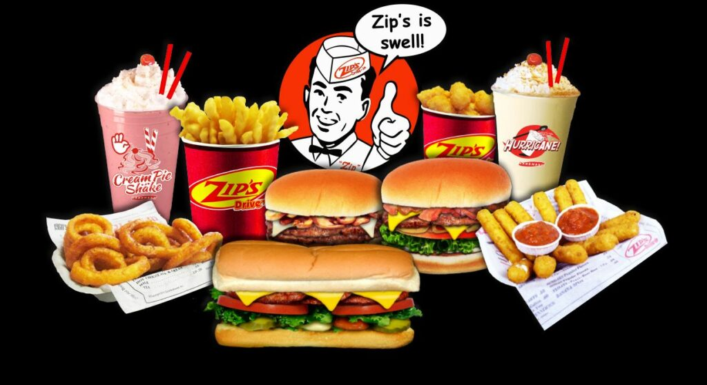 Zip's Drive-In, Image of Product